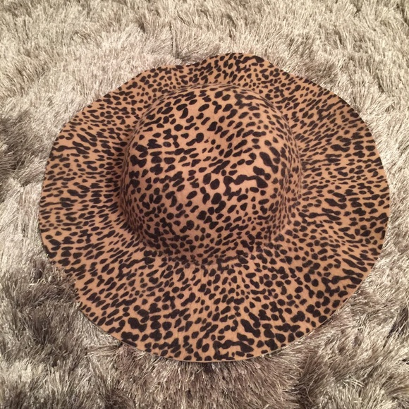 7ccb65d82 Pins and Needles Leopard Print Floppy Hat